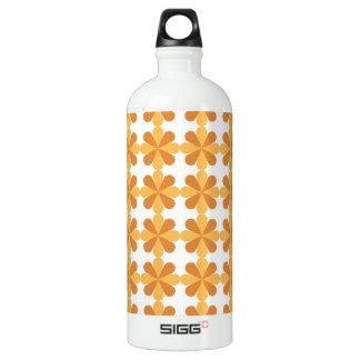 Modelo de flores floral cruzado anaranjado de Cris