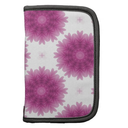 Modelo de flores mullido púrpura bonito planificadores