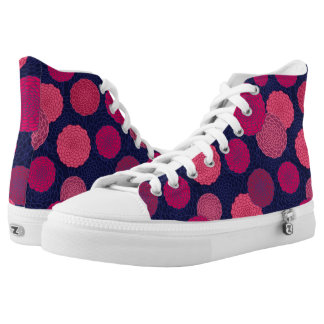 Modelo de flores redondo zapatillas