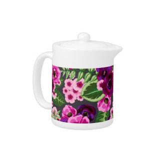 Modelo de flores rosado violeta de X