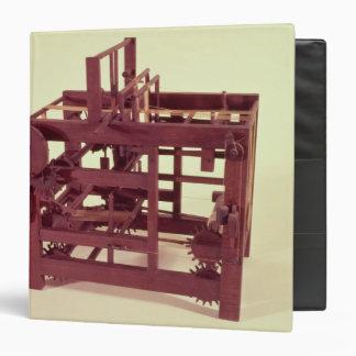 Modelo de funcionamiento de un telar