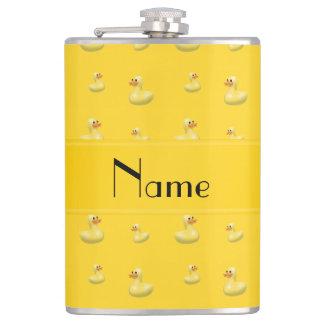 Modelo de goma amarillo conocido personalizado del