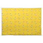 Modelo de goma amarillo del pato