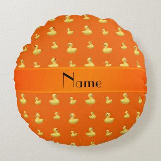 Modelo de goma anaranjado conocido personalizado