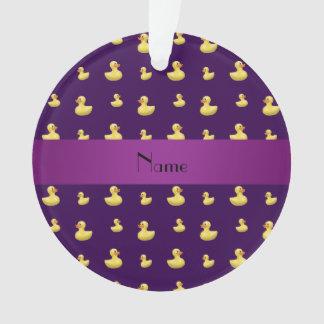 Modelo de goma púrpura conocido personalizado del