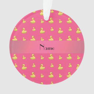 Modelo de goma rosado conocido personalizado del