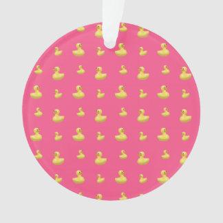 Modelo de goma rosado del pato