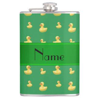 Modelo de goma verde conocido personalizado del