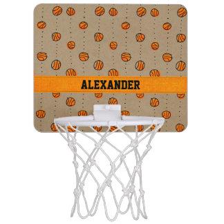Modelo de goteo adaptable del baloncesto canastas mini