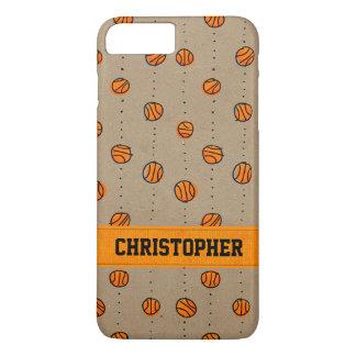 Modelo de goteo adaptable del baloncesto funda iPhone 7 plus