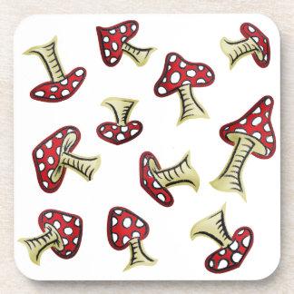 Modelo de hadas tradicional del Toadstool Posavasos