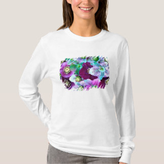 Modelo de Heliborus de la flor floreciente del Playera