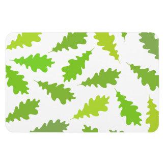 Modelo de hojas verdes imanes de vinilo