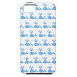 Modelo de la ballena iPhone 5 fundas