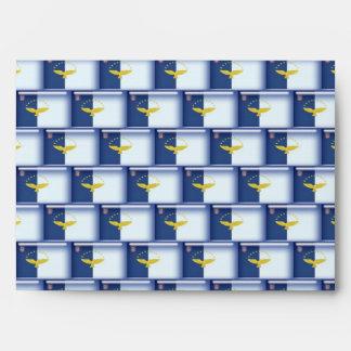 modelo de la bandera de 3D Azores