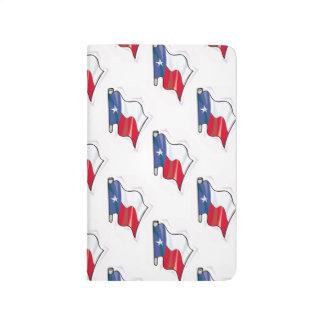 Modelo de la bandera de Tejas; Texan Cuaderno Grapado