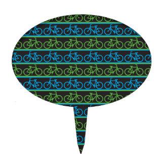 Modelo de la bici de la bicicleta figuras de tarta