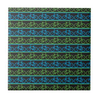 Modelo de la bici de la bicicleta azulejo cuadrado pequeño
