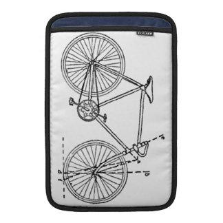 Modelo de la bicicleta fundas macbook air