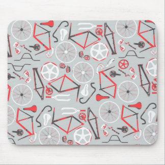 Modelo de la bicicleta mouse pads
