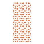 Modelo de la calabaza en anaranjado y blanco tarjetas publicitarias personalizadas