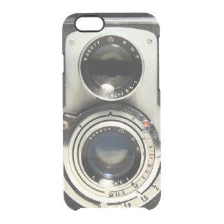 Modelo de la cámara del vintage - vieja mirada de funda clearly™ deflector para iPhone 6 de uncommon
