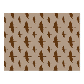 Modelo de la caza del pato tarjetas postales
