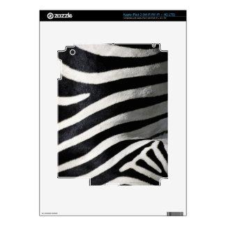 Modelo de la cebra pegatina skin para iPad 3