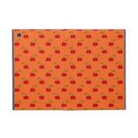 Modelo de la cereza del rojo anaranjado iPad mini carcasa