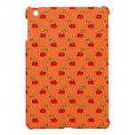 Modelo de la cereza del rojo anaranjado iPad mini carcasas