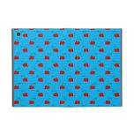 Modelo de la cereza del rojo azul de cielo iPad mini protectores