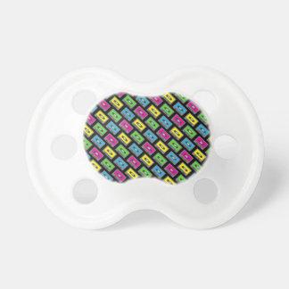 Modelo de la cinta de casete chupetes para bebes
