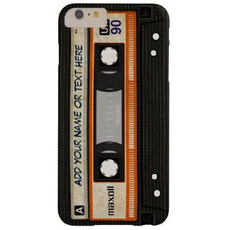 Modelo de la cinta de casete de música de la funda barely there iPhone 6 plus