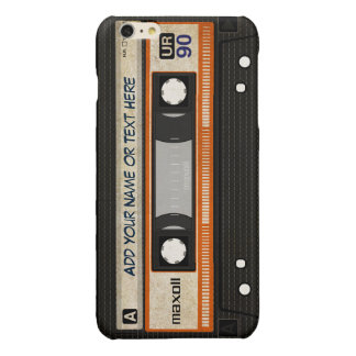 Modelo de la cinta de casete de música de la