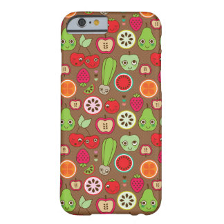 Modelo de la cocina de la fruta funda barely there iPhone 6
