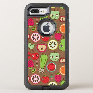 Modelo de la cocina de la fruta funda OtterBox defender para iPhone 7 plus
