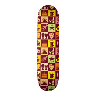 Modelo de la comida skateboard