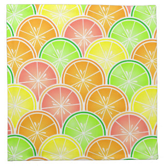 Modelo de la concha de peregrino de la fruta servilletas de papel