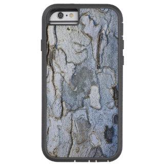 Modelo de la corteza de árbol del sicómoro funda de iPhone 6 tough xtreme