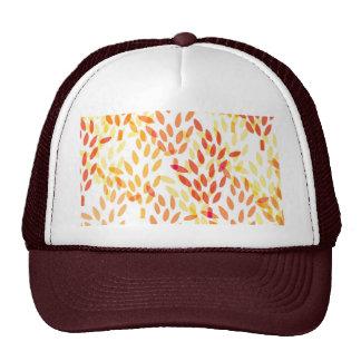modelo de la cosecha del grano y del trigo gorras de camionero