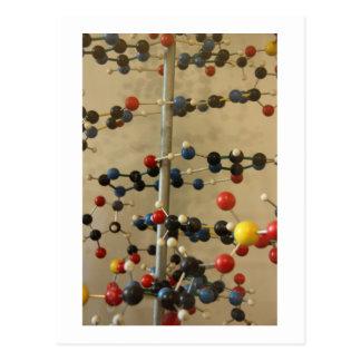 Modelo de la DNA de la postal