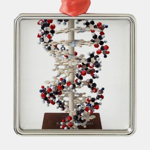 Modelo de la DNA Ornamento Para Arbol De Navidad