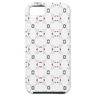 Modelo de la dopamina iPhone 5 carcasas
