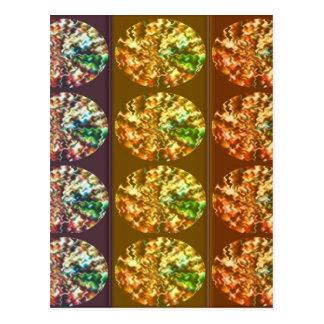 Modelo de la energía de la decoración de los postales