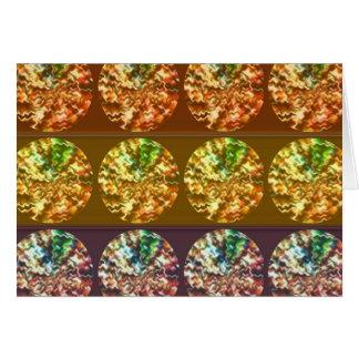 Modelo de la energía de la decoración de los tarjeta de felicitación
