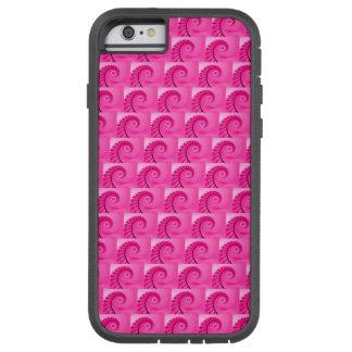 Modelo de la escalera espiral de las rosas fuertes funda de iPhone 6 tough xtreme