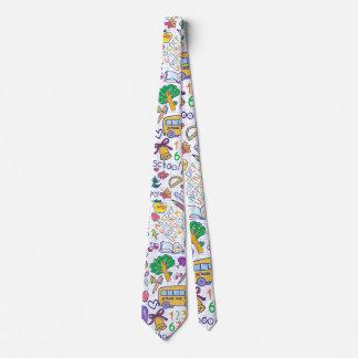 Modelo de la escuela corbata