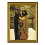Modelo de la familia santa tarjetas postales