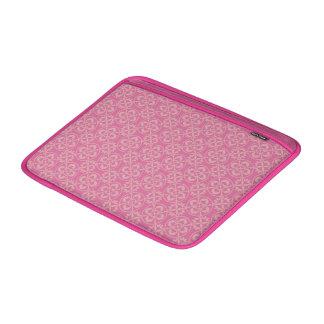 Modelo de la flor de lis en rosa funda  MacBook
