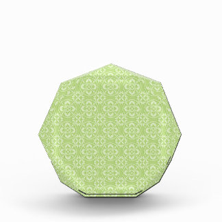 Modelo de la flor de lis en verde